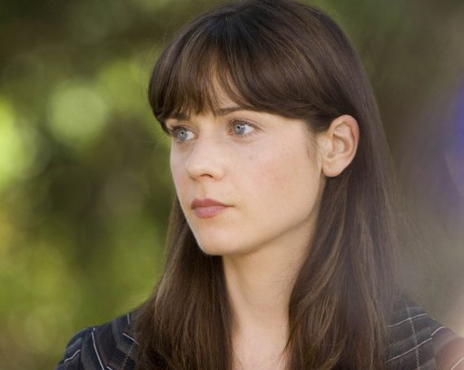 Zooey Deschanel appears in a photo from the 2008...