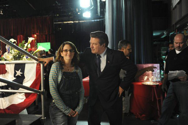 "<div class=""meta ""><span class=""caption-text "">Beth McCarthy Miller is nominated for a Directors Guild 'Comedy Series' Award for her work on '30 Rock'- 'Live Show.' (Pictured: Tina Fey and Alec Baldwin in a still from '30 Rock.') (Photo courtesy of NBC)</span></div>"