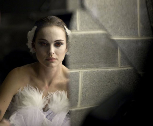 "<div class=""meta ""><span class=""caption-text "">Darren Aronofsky is nominated for a Directors Guild Film Award for his work on 'Black Swan.' (Pictured: Natalie Portman in a still from 'Black Swan.')  (Photo courtesy of Fox Searchlight Pictures)</span></div>"