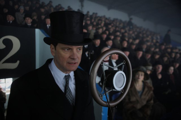 Colin Firth in a still from 'The King's Speech.'