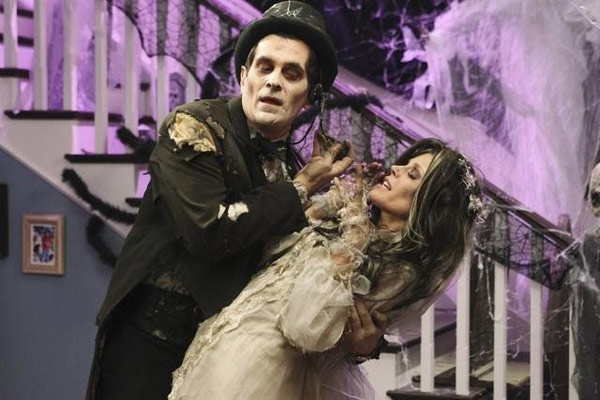 Ty Burrell and Julie Bowen in a still from...