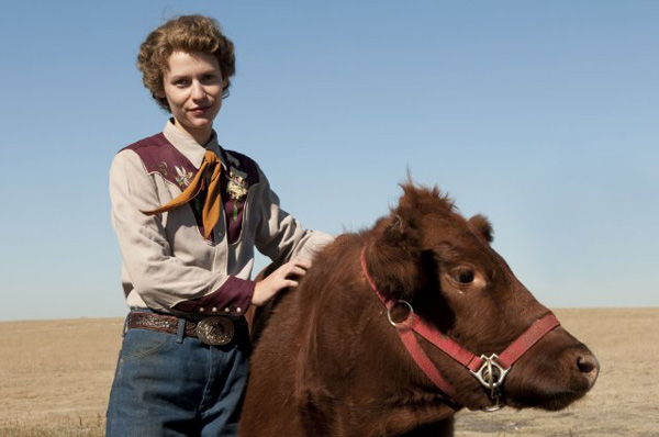Claire Danes in a still from 'Temple Grandin.'
