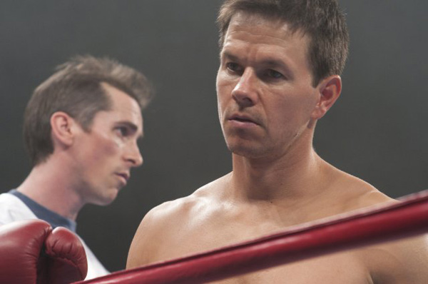 Mark Wahlberg and Christian Bale in a still from...