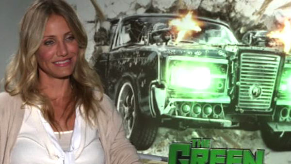 Cameron Diaz speaks to OnTheRedCarpet.com in January 2011 to promote her new film 'The Green Hornet.'