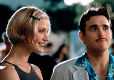 Cameron Diaz and Matt Dillon appear in the 1998 movie 'There's Something About Mary.'