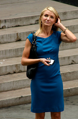 Cameron Diaz walks in New York City on Sept. 10, 2007.