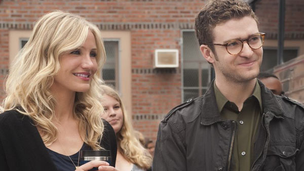 Justin Timberlake and Cameron Diaz appear in a scene from the 2011 movie 'Bad Teacher.'