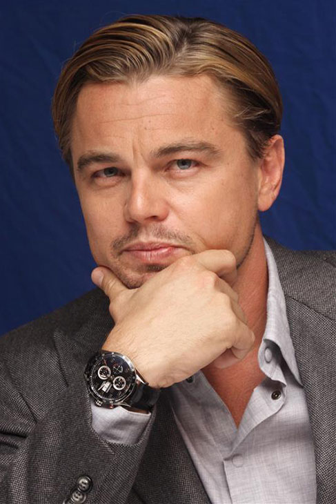 The &#39;Did-I-Leave-The-Oven-Light-On?&#39; stare: Leonardo DiCaprio appears at a press conference for the movie &#39;J. Edgar&#39; at the Beverly Wilshire Four Seasons hotel in Beverly Hills, California on Nov. 3, 2011. <span class=meta>(Munawar Hosain &#47; Startraksphoto.com)</span>