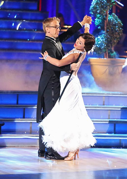 Actor and comedian Andy Dick and his partner Sharna Burgess received 17 out of 30 points from the judges for their Foxtrot routine on the season 16 premiere of &#39;Dancing With The Stars,&#39; which aired on March 18, 2013 <span class=meta>(ABC Photo &#47; Adam Taylor)</span>
