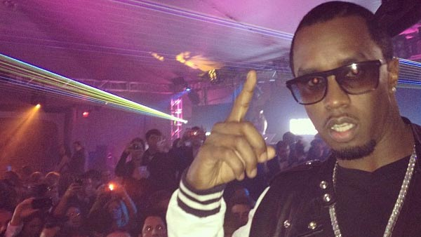 Sean 'Diddy' Combs is pictured in a photo from his official Instagram page posted on February 12, 2012.