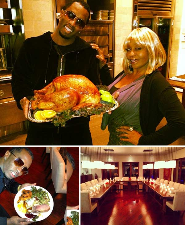 "<div class=""meta image-caption""><div class=""origin-logo origin-image ""><span></span></div><span class=""caption-text"">Sean 'Diddy' Combs Tweeted these Instagram photos on Thanksgiving on Nov. 22, 2012. 'I thank God for my Mamma,' he said. 'Happy Thanksgiving to all the mothers out there!' (twitter.com/iamdiddy/status/271803301123739649 / instagram.com/p/SWveD-pl7h/ / instagram.com/p/SWrqpYpl2G/ / instagram.com/p/SWemxupl0Z/)</span></div>"
