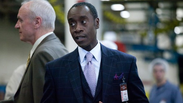 Don Cheadle of &#39;House of Lies&#39; on being nominated for Outstanding Lead Actor In A Comedy Series:  &#39;This nom wouldn&#39;t have been possible without the hard work of the team behind House of...&#40;Expletive&#41; this. Ship the thing to my house, already!&#39;&#39; the actor Tweeted on July 19.  This is Cheadle&#39;s fifth Emmy nomination. The actor has been nominated in a number of different genres for his work in &#39;The Rat Pack,&#39; &#39;A Lesson Before Dying,&#39; &#39;THings Behind the Sun&#39; and &#39;ER.&#39;  &#40;Pictured: Don Cheadle appears in a scene from &#39;House of Lies.&#39;&#41; <span class=meta>(ABC)</span>