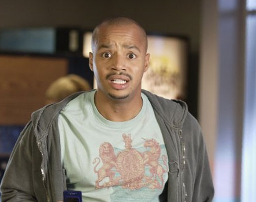Donald Faison appears in a scene from the show...