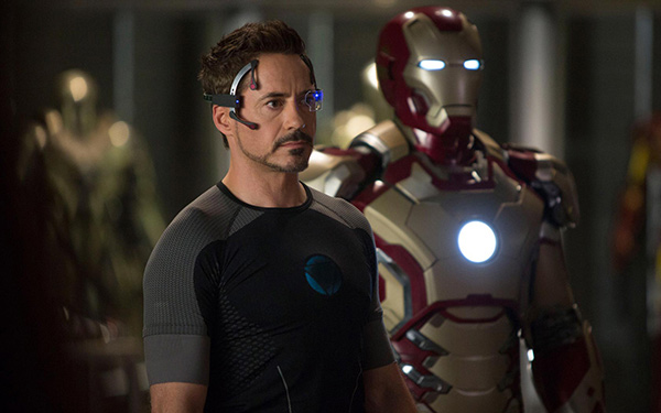 Tony Stark&#47;Iron Man &#40;Robert Downey Jr.&#41; appears in a scene from Marvel&#39;s &#39;Iron Man 3.&#39; <span class=meta>(Film Frame &#47; Marvel &#47; Walt Disney Pictures)</span>