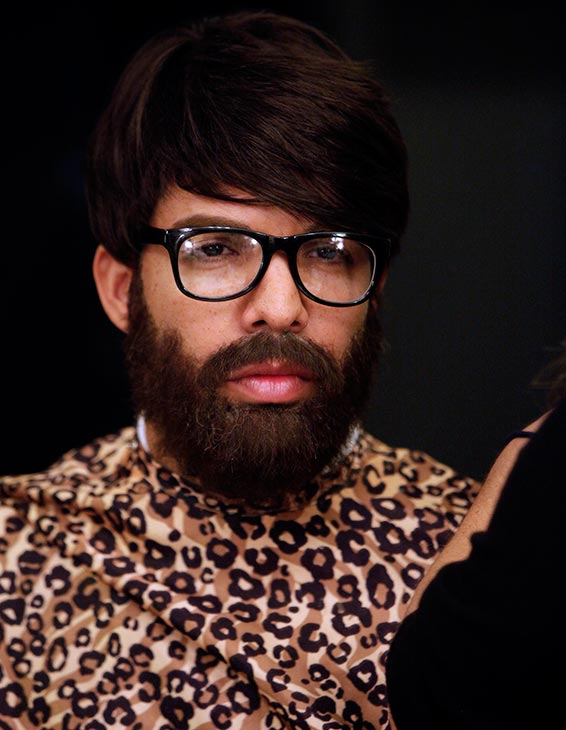 Rapper Drake dons a disguise before heading out to talk to people on the streets of Hollywood, California as part of an &#39;I Witness News&#39; segment taped for ABC&#39;s &#39;Jimmy Kimmel Live!&#39; that aired on April 10, 2014. The rapper, who appeared on the series to promote his upcoming ESPYs 2014 hosting gig, asked people what they think about him and got insulted to his face. This man, however, turned out to be a fan and got to appear on stage on the show. <span class=meta>(ABC Photo &#47; Randy Holmes)</span>