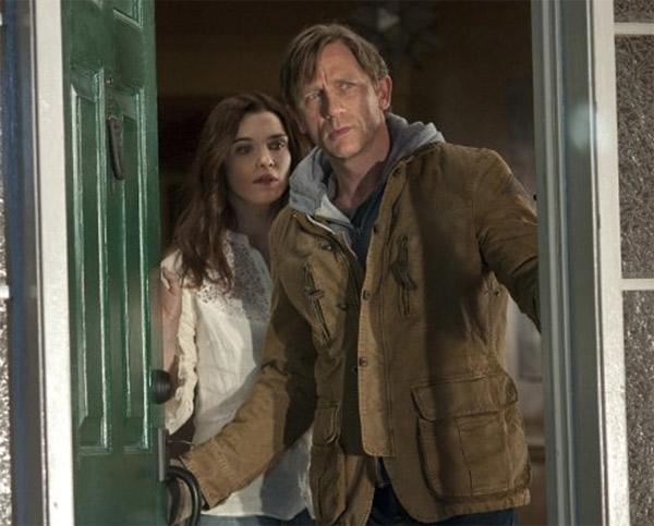 Pictured: Rachel Weisz and Daniel Craig appear...
