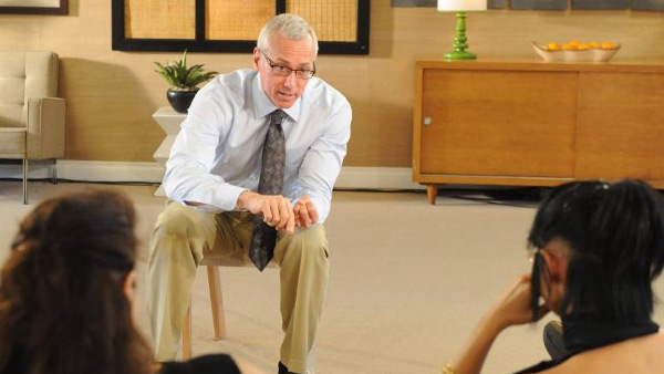 Dr. Drew Pinsky appears in a scene from the show 'Celebrity Rehab with Dr. Drew.'