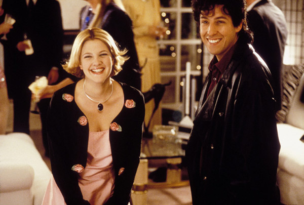 "<div class=""meta ""><span class=""caption-text "">We love Drew Barrymore because -- 'The Wedding Singer,' one of the most romantic and funny comedy movies of the '90s, and one of the best films about the '80s. (Pictured: Drew Barrymore and Adam Sandler appear in a scene from 'The Wedding Singer.') (Juno Pix / New Line Cinema)</span></div>"
