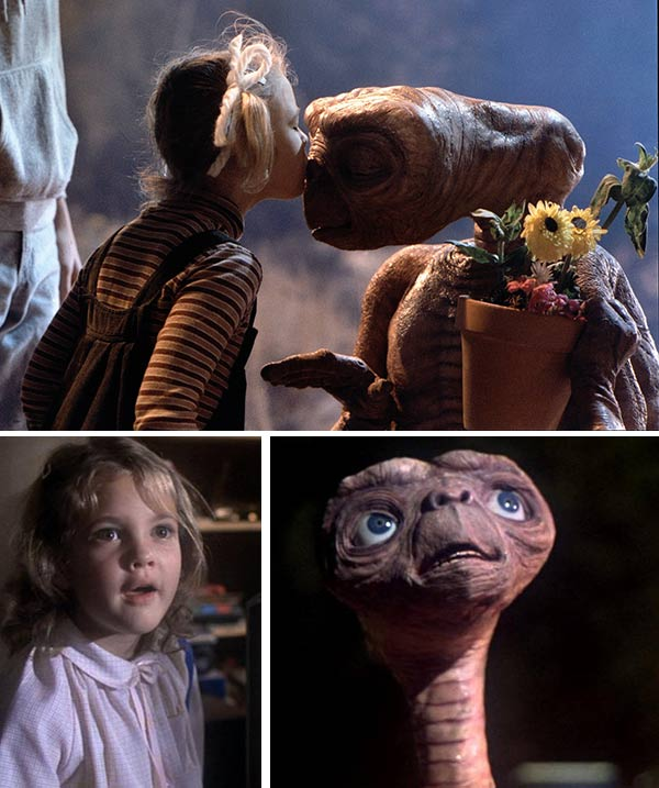 "<div class=""meta ""><span class=""caption-text "">We love Drew Barrymore because -- 'E.T.' (Pictured: Drew Barrymore, age 7, in a scene from Steven Spielberg's Oscar-winning 1982 sci-fi movie 'E.T. the Extra-Terrestrial.') (Universal Pictures)</span></div>"