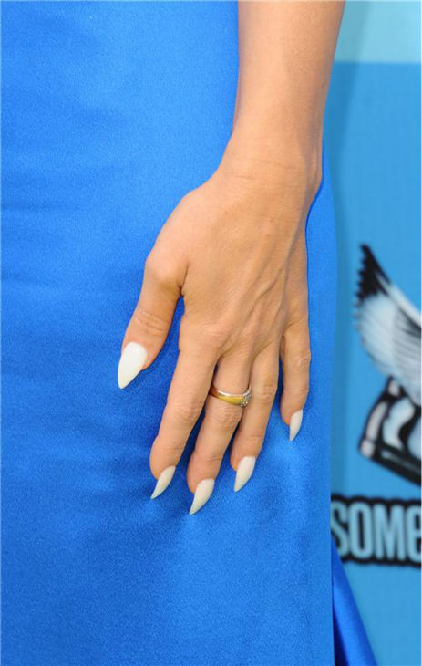 Carmen Electra's nails, seen at the 2013 Do Something Awards in Hollywood, California on July 31, 2013.