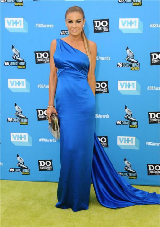 Carmen Electra attends the 2013 Do Something Awards in Hollywood, California on July 31, 2013.