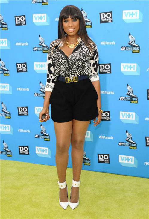 Jennifer Hudson attends the 2013 Do Something Awards in Hollywood, California on July 31, 2013.