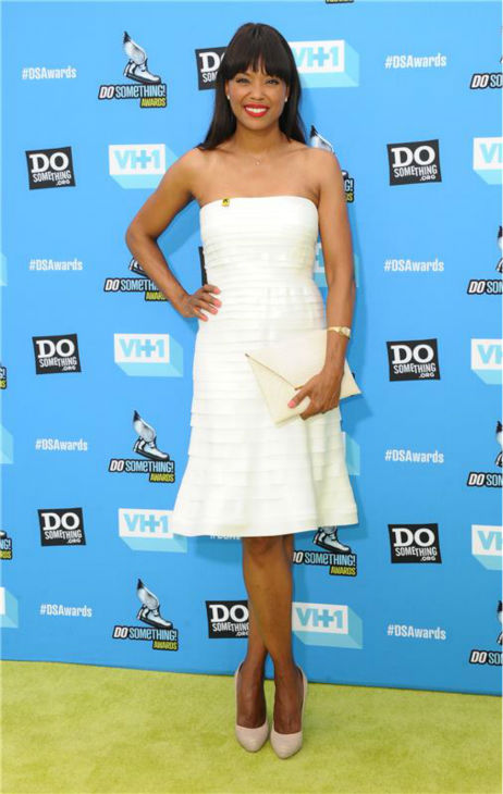 Aisha Tyler attends the 2013 Do Something Awards in Hollywood, California on July 31, 2013.