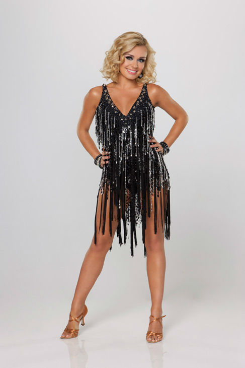 "<div class=""meta ""><span class=""caption-text "">Opera star Katherine Jenkins appears in an official cast photo for 'Dancing With The Stars' season 14. (ABC Photo/ Craig Sjodin)</span></div>"