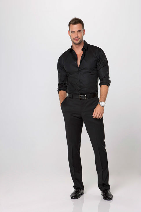 Telenovela star and model William Levy appears in an official cast photo for 'Dancing With The Stars' season 14.