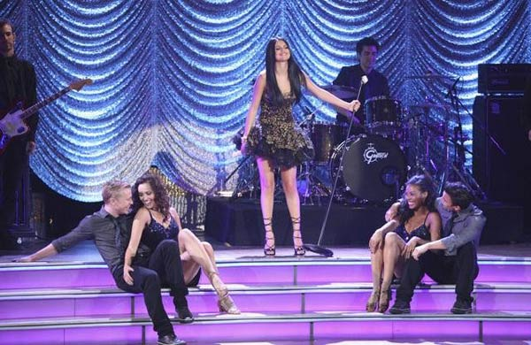 Selena Gomez and her band, The Scene, also hit...