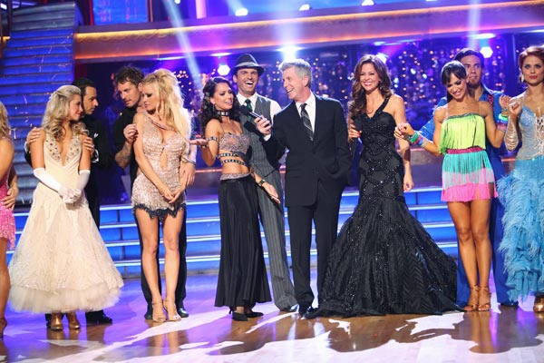 "<div class=""meta ""><span class=""caption-text "">The cast appears in a still from the season premiere of 'Dancing  With The Stars: All-Stars,' which aired on September 24, 2012. (ABC / Adam Taylor)</span></div>"