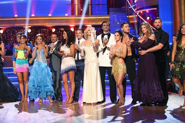 The cast appears in a still from the season premiere of &#39;Dancing  With The Stars: All-Stars,&#39; which aired on September 24, 2012. <span class=meta>(ABC &#47; Adam Taylor)</span>