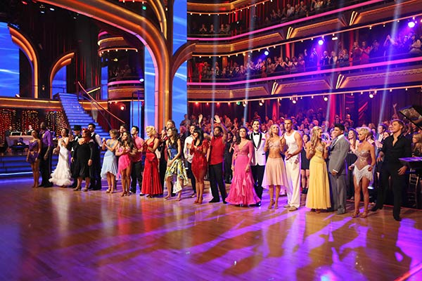 The new cast appears on the season 16 premiere of 'Dancing With The Stars' on March 18, 2013.