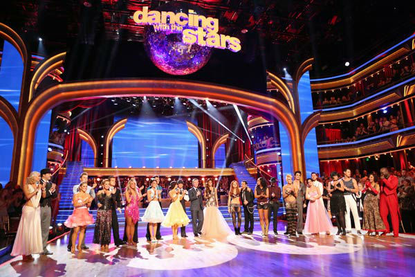 The cast of &#39;Dancing With The Stars: All-Stars&#39; appears on the second performance show, which aired on Oct. 1, 2012. <span class=meta>(ABC &#47; Adam Taylor)</span>