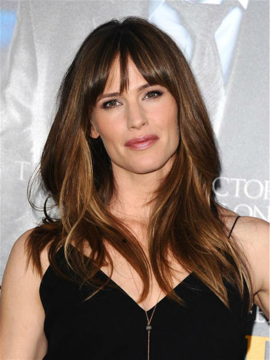 Jennifer Garner&#39;s perfect hair is so silky ...  &#40;Pictured: Jennifer Garner appears at the premiere of &#39;Draft Day&#39; in Westwood, near Los Angeles, on April 7, 2014.&#41; <span class=meta>(Sara De Boer &#47; Startraksphoto.com)</span>