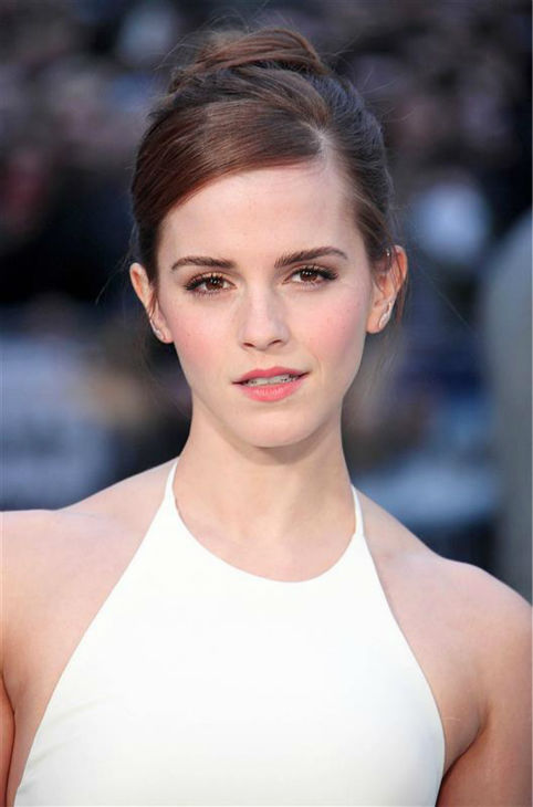 "<div class=""meta image-caption""><div class=""origin-logo origin-image ""><span></span></div><span class=""caption-text"">Emma Watson, wearing a one-of-a-kind, flowing, white Ralph Lauren collection halter gown, appears at the 'Noah' London premiere on March 31, 2014. She plays Ila, wife of Noah's son Shem, in the film. (Doug Peters / ABACA / startraksphoto.com)</span></div>"