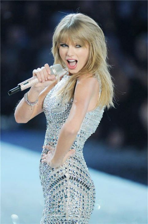 "<div class=""meta image-caption""><div class=""origin-logo origin-image ""><span></span></div><span class=""caption-text"">Taylor Swift performs on the runway at the 2013 Victoria's Secret Fashion Show at the Lexington Armory in New York on Nov. 13, 2013. (Humberto Carreno / Startraksphoto.com)</span></div>"