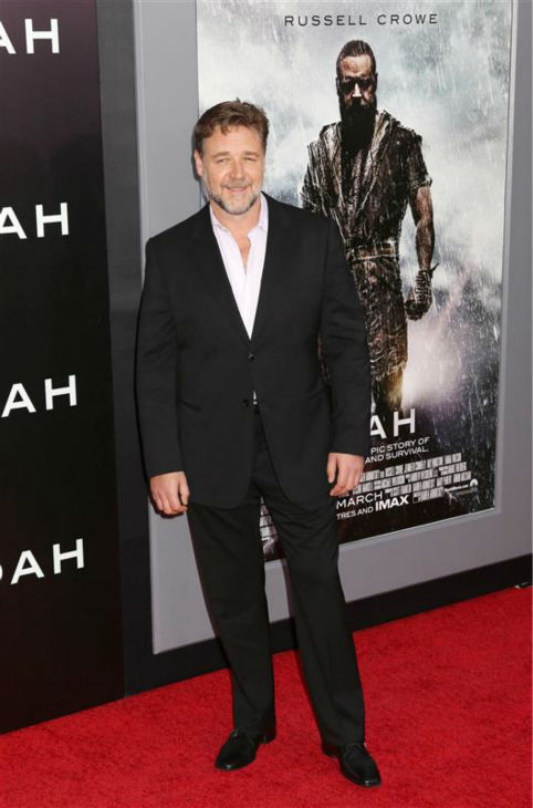 "<div class=""meta image-caption""><div class=""origin-logo origin-image ""><span></span></div><span class=""caption-text"">Russell Crowe appears at the premiere of 'Noah' in New York on March 26, 2014. He plays the title character in Darren Aronofsky's movie. (Abaca / Startraksphoto.com)</span></div>"