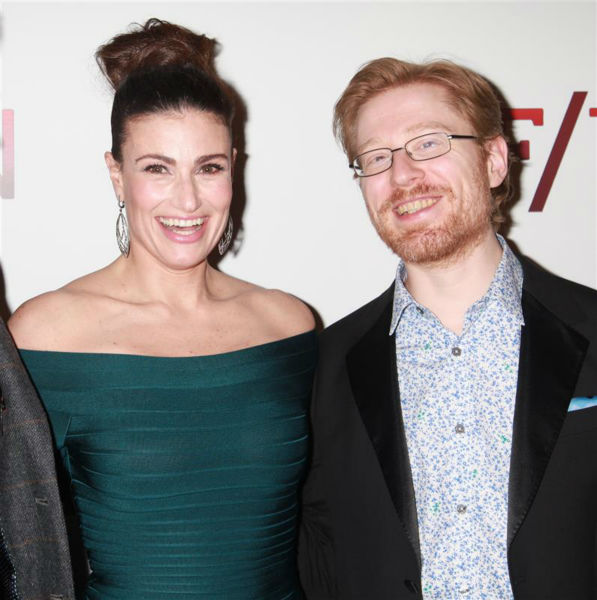 Idina Menzel and fellow &#39;Rent&#39; alum Anthony Rapp attend the opening night of the new Broadway musical &#39;If&#47;Then&#39; at the Richard Rodgers Theatre in New York on March 30, 2014. The two are among the cast members. In &#39;Rent&#39; in the 1990s, Menzel and Rapp played former couple Maureen and Mark. Menzel is also known for her past role in the Broadway musical &#39;Wicked&#39; &#40;as Elphaba&#41; and portrayed Elsa in the Disney movie &#39;Frozen,&#39; in which she sang the hit song &#39;Let It Go.&#39; <span class=meta>(Adam Nemser &#47; Startraksphoto.com)</span>