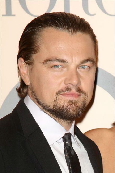 The &#39;Hairier-Than-Usual&#39; stare: Leonardo DiCaprio appears at Armani&#39;s One Night Only In New York fashion show in New York on Oct. 24, 2013. <span class=meta>(Kristina Bumphrey &#47; Startraksphoto.com)</span>