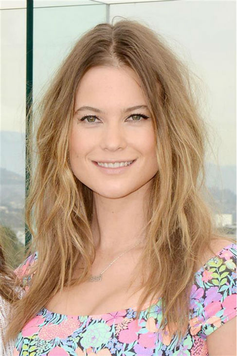 Victoria's Secret Angel Behati Prinsloo (Adam Levine's fiancee) models a bikini from the Victoria Secret 2014 Swim Collection in Los Angeles on March 11, 2014.