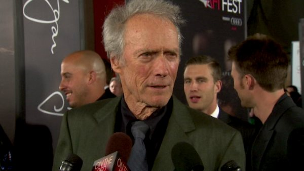 Clint Eastwood talks to OnTheRedCarpet.com at...