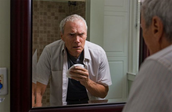 Clint Eastwood in a scene from the 2008 film,...
