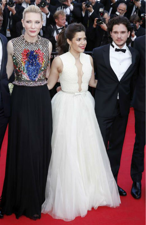 Cate Blanchett, America Ferrera and Kit Harington of &#39;Game of Thrones&#39; fame appear at a screening of &#39;How To Train Your Dragon 2&#39; at the 2014 Cannes Film Festival on Friday, May 16, 2014. <span class=meta>(Graham Whitby Boot &#47; Startraksphoto.com)</span>