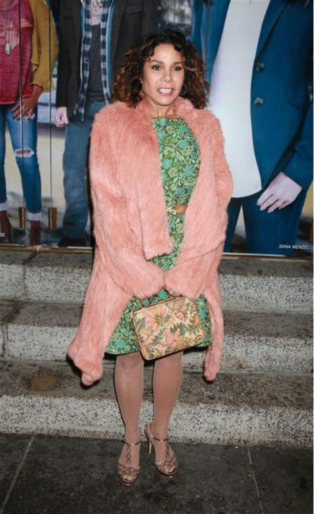 "<div class=""meta image-caption""><div class=""origin-logo origin-image ""><span></span></div><span class=""caption-text"">Daphne Rubin-Vega attends the opening night of the new Broadway musical 'If/Then' at the Richard Rodgers Theatre in New York on March 30, 2014. Her former 'Rent' co-star, Idina Menzel, is one of the cast members. Rubin-Vega played Mimi in the 1990s musical, while Menzel portrayed Maureen. (Adam Nemser / Startraksphoto.com)</span></div>"