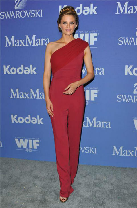 "<div class=""meta image-caption""><div class=""origin-logo origin-image ""><span></span></div><span class=""caption-text"">Stana Katic of 'Castle' appears at Women In Film's 2013 Crystal + Lucy Awards in Los Angeles on June 12, 2013. (Sara De Boer / Startraksphoto.com)</span></div>"