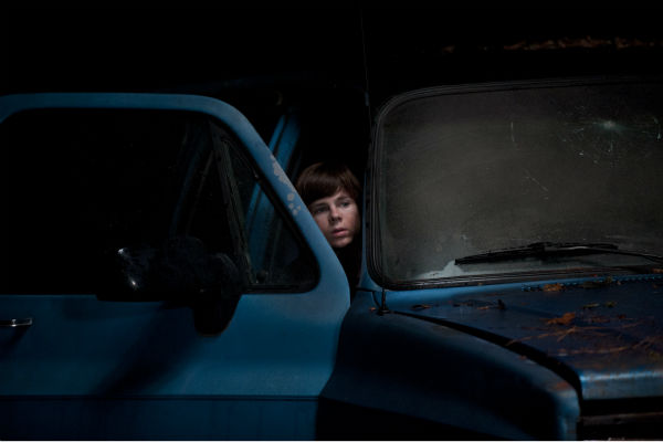 Carl Grimes &#40;Chandler Riggs&#41; appears in a scene from AMC&#39;s &#39;The Walking Dead&#39; season 4 finale, which aired on March 30, 2014. <span class=meta>(Gene Page &#47; AMC)</span>