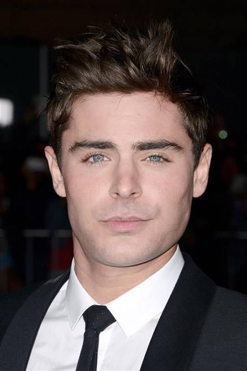 The &#39;Non-Awkward&#39; stare: Zac Efron appears at the premiere of the R-rated comedy movie &#39;That Akward Moment&#39; at L.A. Live Regal Cinemas in Los Angeles on Jan. 27, 2014. <span class=meta>(Lionel Hahn &#47; Abacausa &#47; Startraksphoto.com)</span>