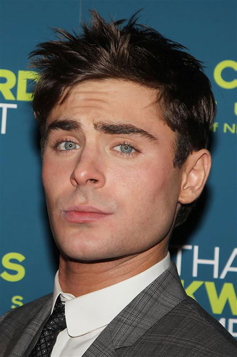 The &#39;Oh-Yeah-I&#39;m-Staring-Whaaaat&#39; stare: Zac Efron appears at the premiere of &#39;That Awkward Moments&#39; in New York on Jan. 22, 2014. <span class=meta>(Amanda Schwab &#47; Startraksphoto.com)</span>