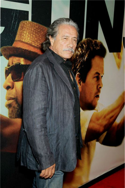 Edward James Olmos attends the premiere of the film &#39;2 Guns&#39; at the SVA Theatre in New York on July 29, 2013. <span class=meta>(Marion Curtis &#47; Startraksphoto.com)</span>